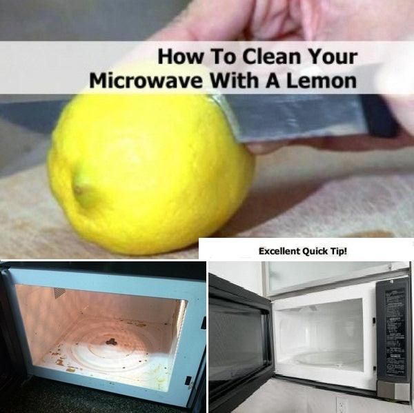 Καθαρίστε το φούρνο μικροκυμμάτων σας πανεύκολα!